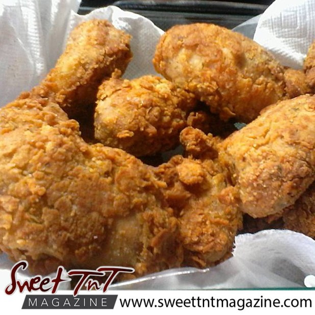 Fried chicken. Down memory lane to Granville Beach.