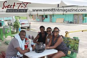Friends at Maracas Beach, in sweet T&T for Sweet TnT Magazine, Culturama Publishing Company, for news in Trinidad, in Port of Spain, Trinidad and Tobago, with positive how to photography.