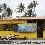 Manzanilla. Hammerhead banner in sweet T&T for Sweet TnT Magazine, Culturama Publishing Company, for news in Trinidad, in Port of Spain, Trinidad and Tobago, with positive how to photography.
