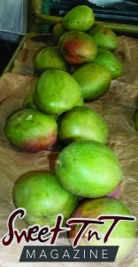 Julie mangoes at the Tunapuna Market