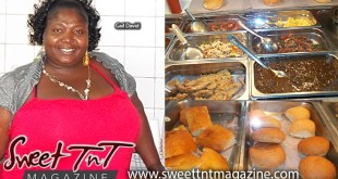 Gail David serves breakfast, lunch and a smile, hops, bake, smoked herring, eggs, in Port of Spain, Breakfast Shed, Sweet T&T, Sweet TnT, Trinidad and Tobago, Trini, vacation, travel