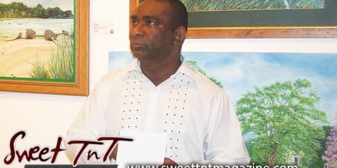 Artist Cliff A Birjou, landscape art, Sweet T&T, Sweet TnT, Trinidad and Tobago, Trini, vacation, travel