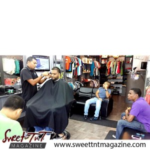 Barber Faisal Mohammed, Master of Fades in salon, Sweet T&T, Sweet TnT, Trinidad and Tobago, Trini, vacation, travel