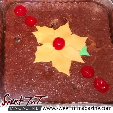 Food - Fruit cake by Radha Ramoutar.