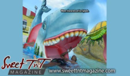 Fun Splash whale ride, August Summer, water park, Sweet T&T, Sweet TnT, Trinidad and Tobago, Trini, vacation, travel,