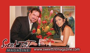 Journalist Ann Marie Amante with husband Michael Amante is a world-renowned Opera and Classical singer, Sweet T&T, Sweet TnT, Trinidad and Tobago, Trini, vacation, travel