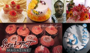 Cake decorating is my passion in sweet T&T for Sweet TnT Magazine, Culturama Publishing Company, for news in Trinidad, in Port of Spain, Trinidad and Tobago, with positive how to photography.