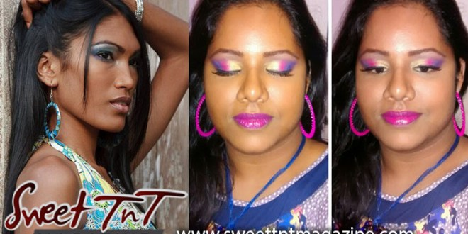 Kavita Marajh makeup, Sweet T&T, Sweet TnT, Trinidad and Tobago, Trini, vacation, travel