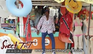 Jimmy Diamond at Maracas the popular beach, vendor, bikini, life savers, Sweet T&T, Sweet TnT, Trinidad and Tobago, Trini, vacation, travel