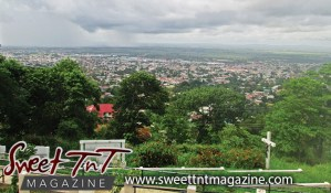Mount St Benedict look out by Omilla Mungroo, Sweet T&T, Sweet TnT, Trinidad and Tobago, Trini, vacation, travel,