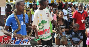 Snakes in Port of Spain, Carnival Tuesday, children with snakes Sweet T&T, Sweet TnT, Trinidad and Tobago, Trini, vacation, travel, one love