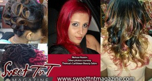 Nerissa Hosein, Theresa's Caribbean Beauty Salon, hairdresser, Wives, mothers, Women, dye your hair, shop, work out, Sweet T&T, Sweet TnT, Trinidad and Tobago, Trini, vacation, travel,