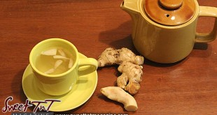 Ginger, tea, ginger tea, bush tea, flu, cough, tea party, medicine,sinus, Sweet T&T, Sweet TnT, Trinidad and Tobago, Trini, Travel, Vacation, Tourist,