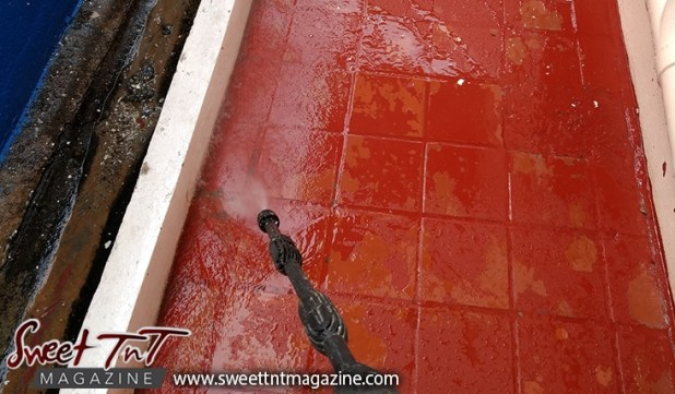power wash, yard, For Christmas, To do list, Christmas, Sweet T&T, Sweet TnT, Trinidad and Tobago, Trini,