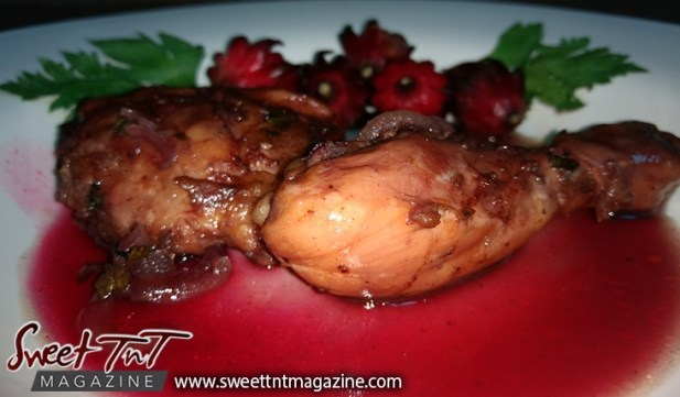 How to make grilled sorrel chicken
