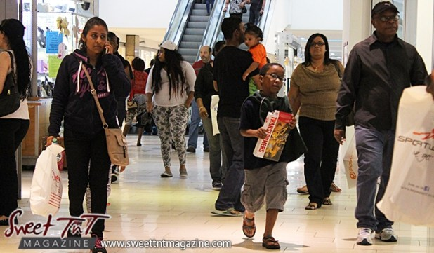 Boy with Transformers game at Trincity Mall for holiday in sweet t&t for Sweet TnT Magazine in Trinidad and Tobago