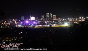 Charlotte Street to Wrightson Road in city of Port of Spain from Lady Chancellor Hill in sweet t&t for Sweet TnT Magazine in Trinidad and Tobago for tourists, photography, scenic views, vacation, travel