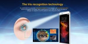 HOMTOM HT10 Iris recognition