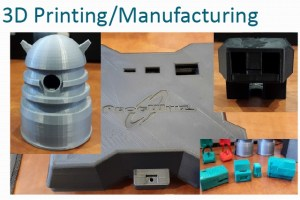 3D printing, manufacturing by Prog Whiz for phone app article