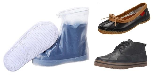 Rain shoes golash boots