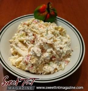 Chicken salad sandwich in Sweet T&T