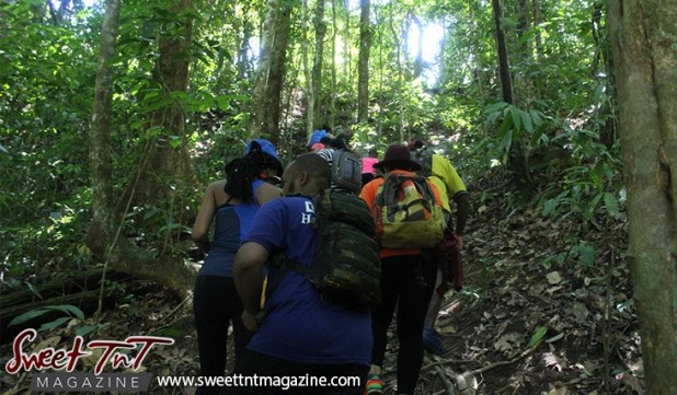 Hike to Mermaid Pool in Matura with Surge Katalyst in Sweet T&T.