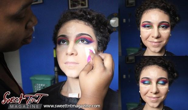Zayna Mc Donald. Makeup by Brianna Taylor