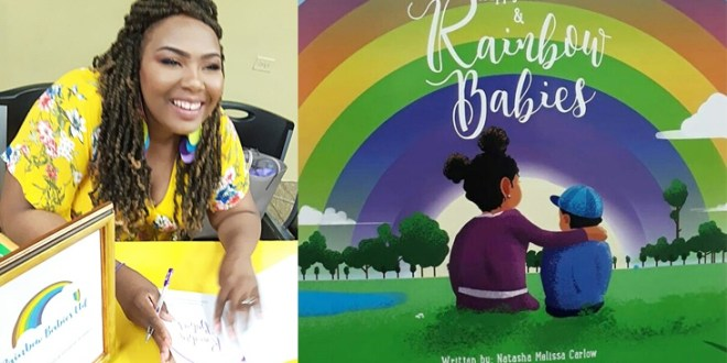 Happy Tears and Rainbow Babies by Natasha Carlow .