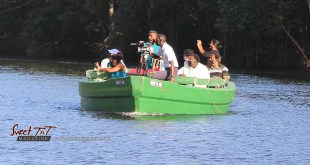Boat ride on Caroni River, Caroni Bird Sanctuary, Trinidad. Travel gadgets.