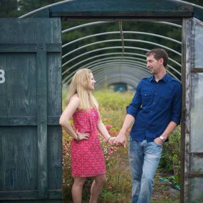 Greenhouse Engagement by M. Chase Narrative Photography