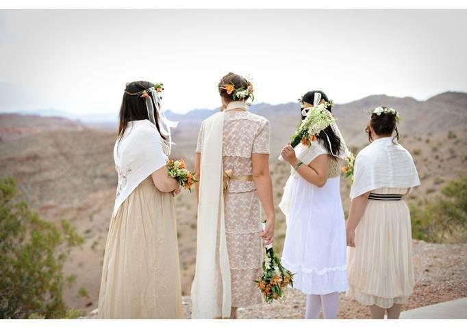 desert wedding colors