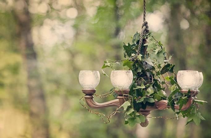 woodland chandelier