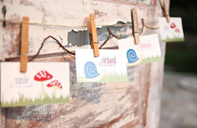 woodland placecards