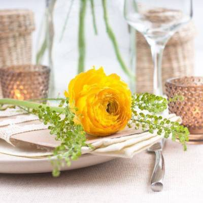 Great Ideas for Catering Backyard Wedding Receptions
