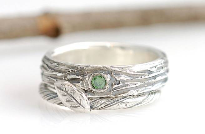 tree - Nature Inspired Wedding Rings