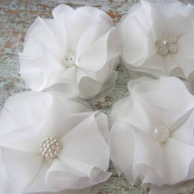 DIY: Chiffon Flower Napkin Rings