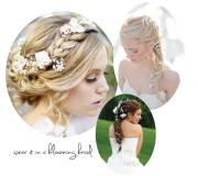 romantic rustic wedding hairstyles