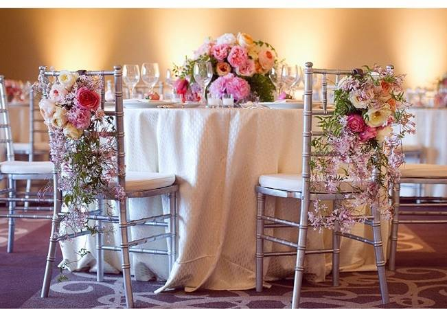 trailing jasmine floral arrangement