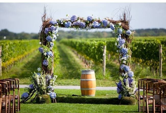 Winery Themed Wedding Invitations