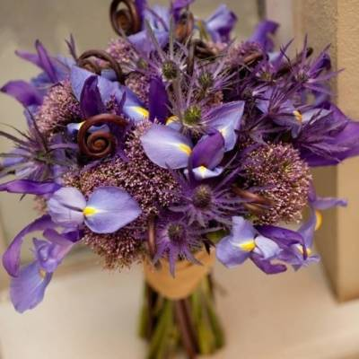 Wedding Flower Inspiration: Iris