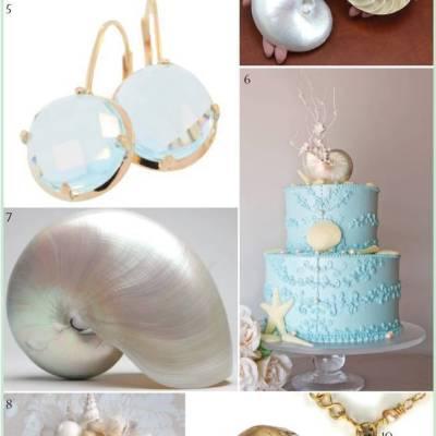 Wedding Inspiration Board #5: Nautilus