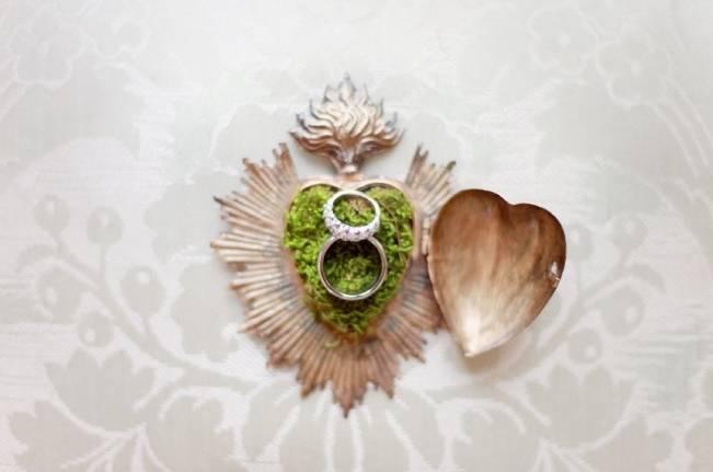 woodland moss ring box