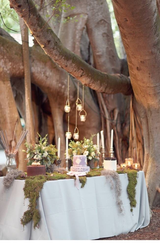 fairytale wedding reception