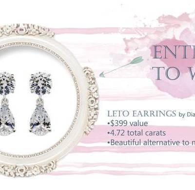 Diamond Nexus Giveaway: Enter to Win the Elegant Leto Earrings