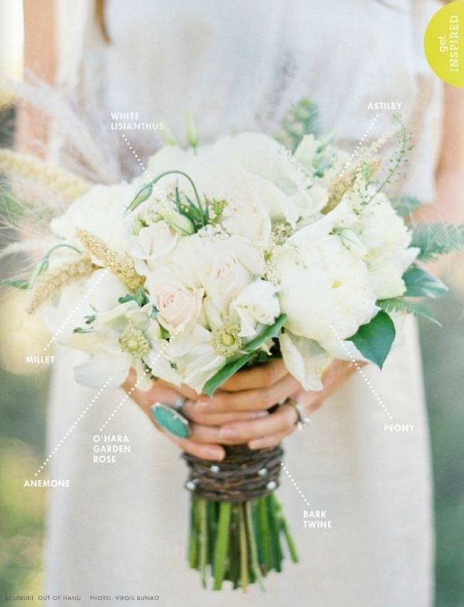Wedding Bouquets With Lisianthus : Wedding flower inspiration lisianthus