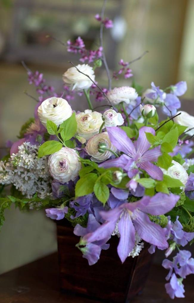 Wedding Flower Inspiration  Clematis