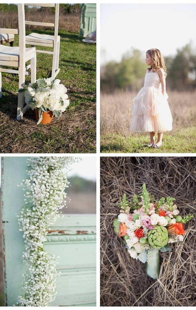 country chic outdoor wedding