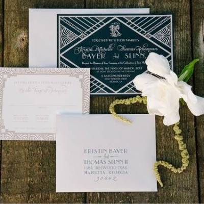 1920's Southern Charm Styled Wedding {Elle Puckett Photographer}