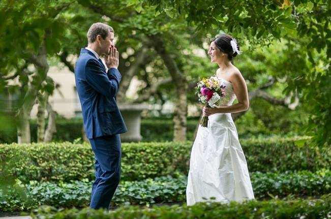 Brooklyn Botanic Garden Wedding Sarah Tew Photography