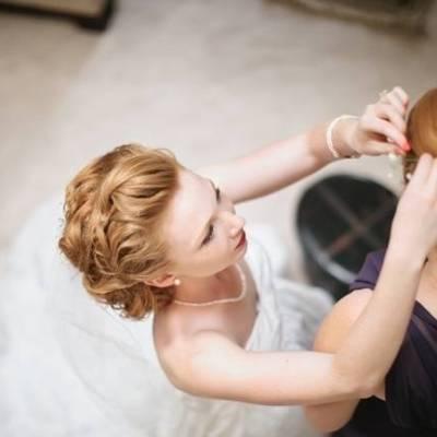 DIY Purple + Orange Outdoor Wedding {Catherine Rhodes Photography}